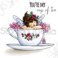 Stamp - Tiny Townie - Edna's Cup of Tea