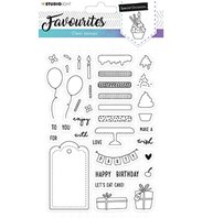 Clear Stamp - Favourites - Special Occasions- n°484