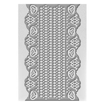 Embossing Folder - Magnolia Lace