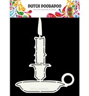 Dutch Card Art - Candle