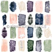 Papier - Abstract Watercolours - Card sheet