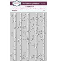 3D Embossing Folder - Leafy Forest