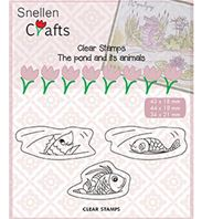 Clear stamps - Fish