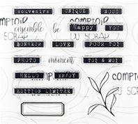 Clear stamps - Souvenirs