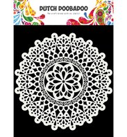 Dutch Mask Art - Mandala