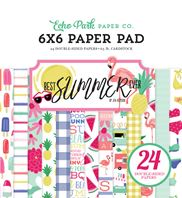 Paper Pad 6 x 6 - Best Summer