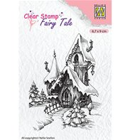 Clear stamp - Castle Winter
