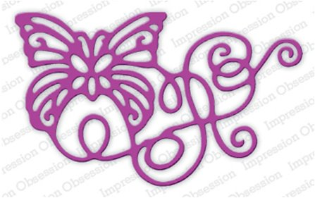 DIE - Ribbon Butterfly