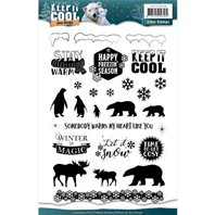 Clear Stamps - Keep it Cool