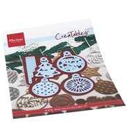 Creatables -Merry Christmas baubles