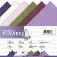 Lot de cartes A5 - Timeless Flowers