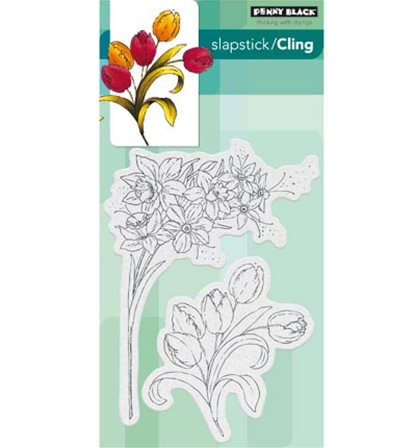 Cling Stamp - Flower gala