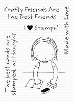 Clear Stamps - Crafty Friends