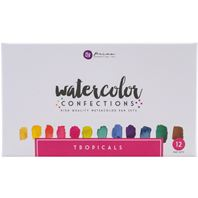 Watercolor Confections - Tropicals