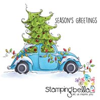 Stamp - Bella's Exclusive Images - Christmas Bug