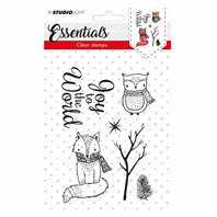 Clear stamp - Essentials - Joy