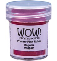 Wow! Embossing Powder - Primary Pink Robin