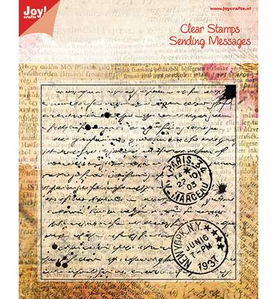 Clear Stamp - Lettre