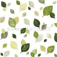 Papier - Patterned leaves