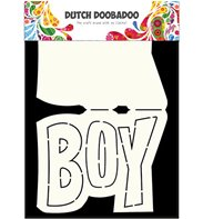 Dutch Card Art - Text Boy