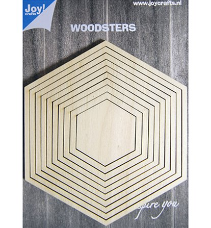 Woodsters - hexagones