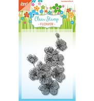 Clear stamp - Flower