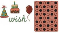 Thinlits & Embossing Folder - Birthday