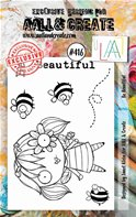 Clear stamp-A7-#416-Be beautiful