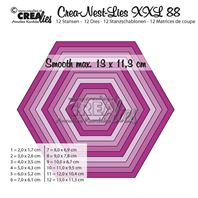 Crea-Nest-Lies- XXL - Hexagon