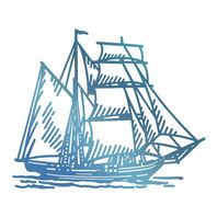 Foil Stamp - Tall Ship