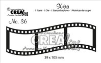 Crealies X-tra - Curved Filmstrip middlel