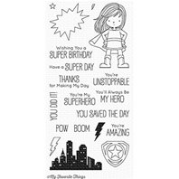 Clear Stamps - You're Super