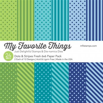 Fresh Dots & Stripes Paper Pack