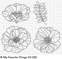 Clear stamps - Brilliant Blooms