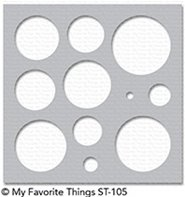 MIX-ables STENCILS - Basic Shapes - Circles