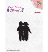 Clear stamp - Close friends