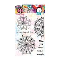 Clear Stamp - Art by Marlene - Mandala tapestry