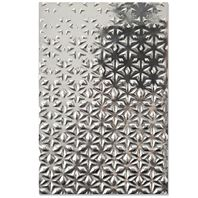 Embossing folder 3D - etoilé