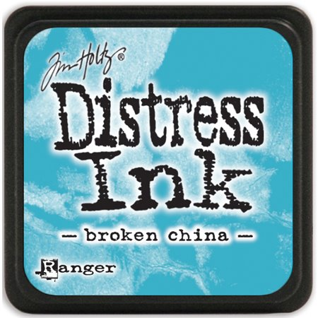 Mini Distress Pad - Broken China