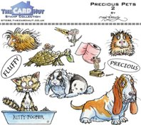 Clear Stamp - Precious pets 2