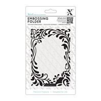 Embossing Folder - Floral curls