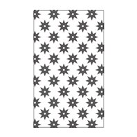 Mini Embossing Folder - Eight Pointed Star