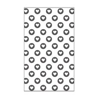 Mini Embossing Folder - Full of Hearts