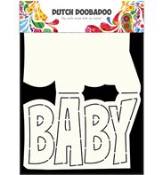 Dutch Card Art - Text Baby