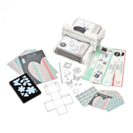 Big shot Plus White&Gray - A4 Starter Kit