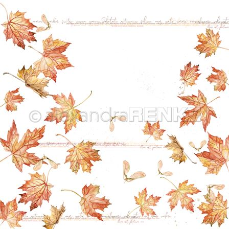 Papier - Big Maple leaves