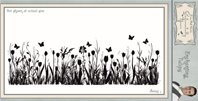 Cling Stamp - Enchanting Tulips
