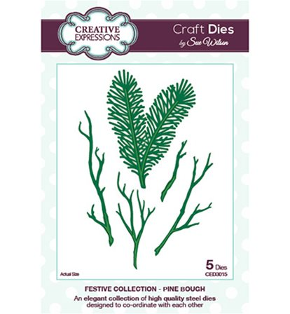 Craft Dies - Festive Collection - Pine Bough