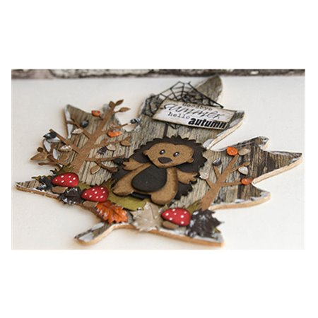 Craftables - Punch die-Autumn Leaves