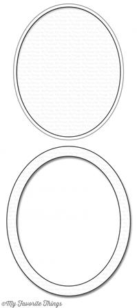 Die-namics - Oval Shaker Window & Frame